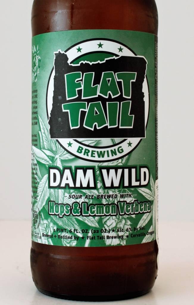"Flat Tail Brewing ""Dam Wild Hops & Lemon Verbena"" Sour Ale, Oregon"