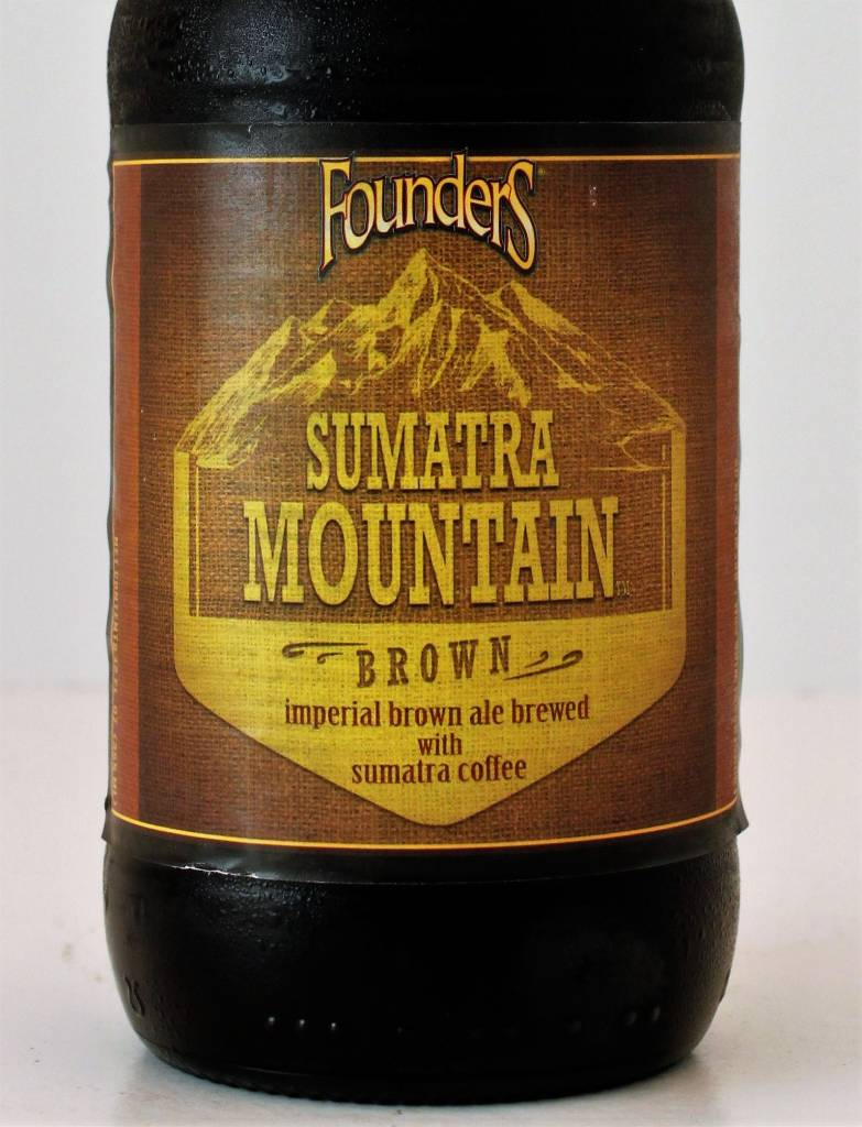 "Founders Brewing ""Sumatra Mountain Brown"" Imperial Coffee Brown, Michigan"