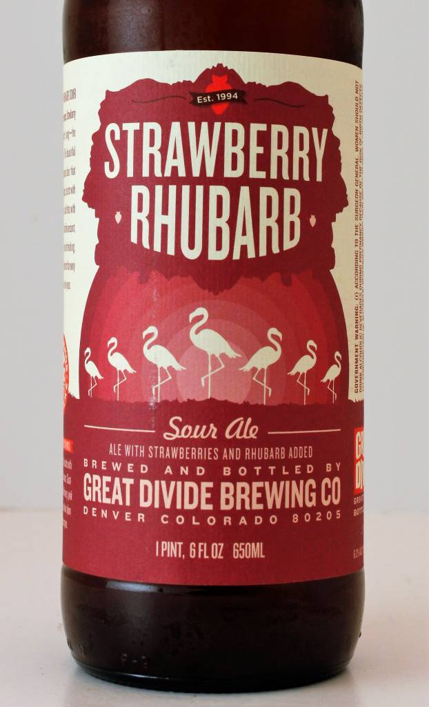 "Great Divide ""Strawberry Rhubarb"" Sour, Colorado"