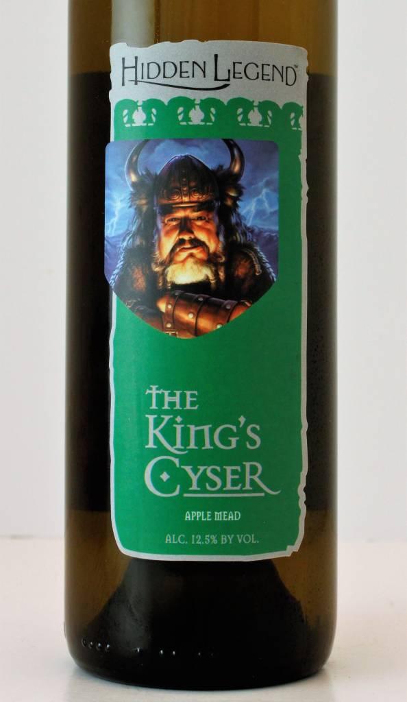 Hidden Legend Winery Kings's Cyser Apple Mead, Montana