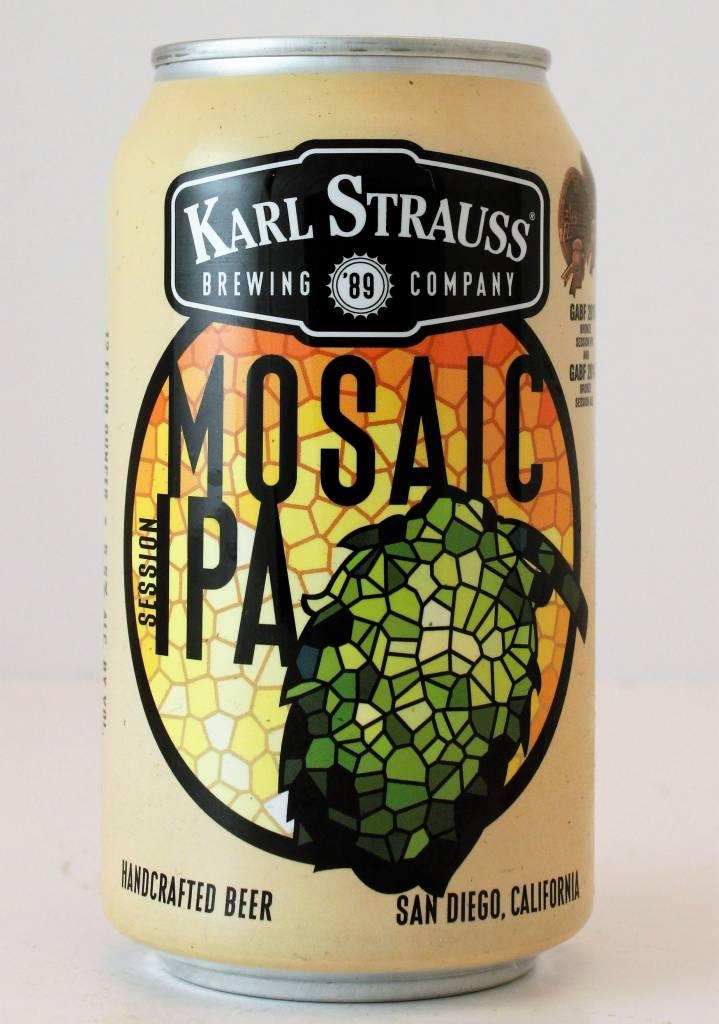 "Karl Strauss ""Mosaic IPA"", California - 12oz can"