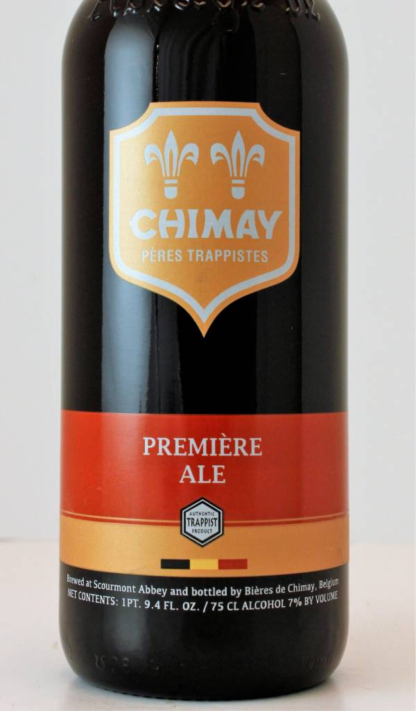 Chimay Premiere Dubbel Ale (Red), Belgium