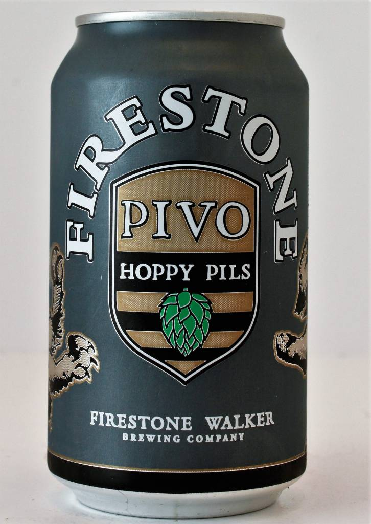 "Firestone Walker Brewing ""Pivo"" Hoppy Pilsner, California - 12oz can"