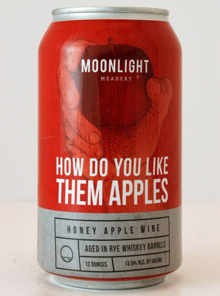 Moonlight Meadery How Do You Like Them Apples Honey Apple Wine Brewed in Rye Barrels, New Hampshire