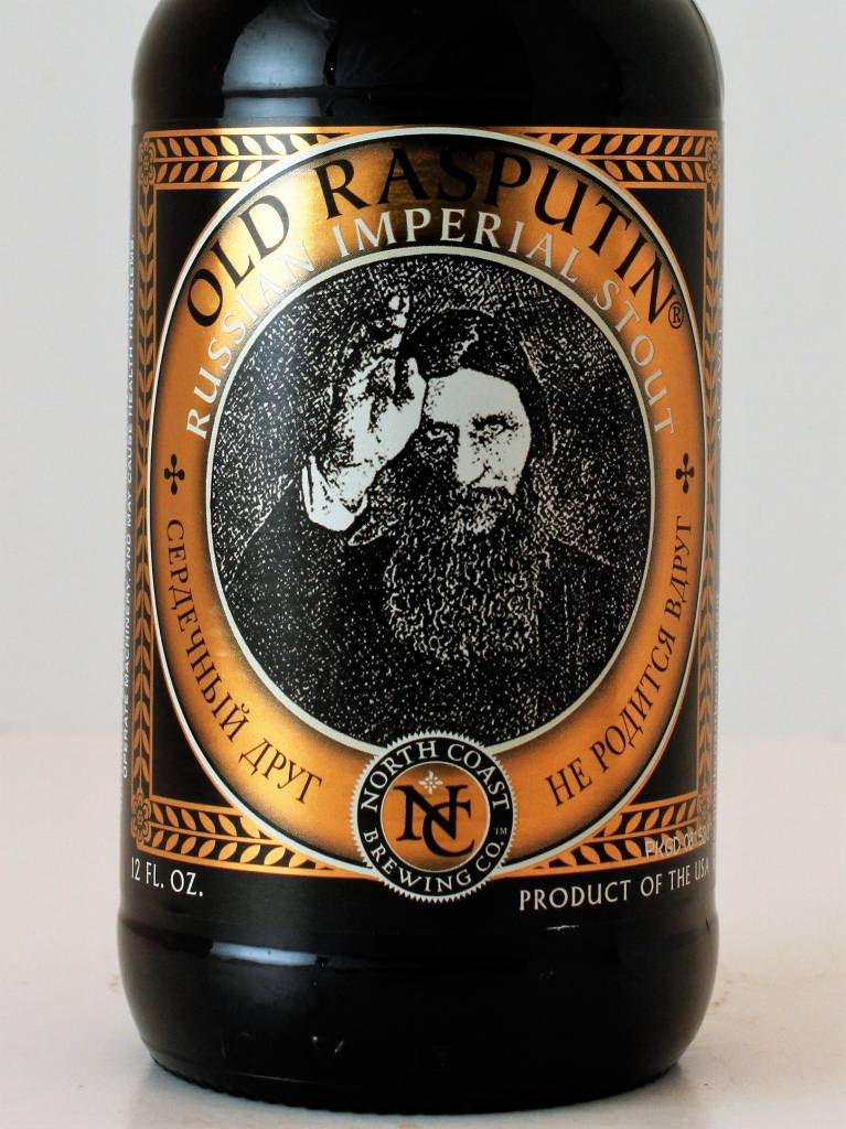 "North Coast Brewing ""Old Rasputin"" Imperial Stout, California"