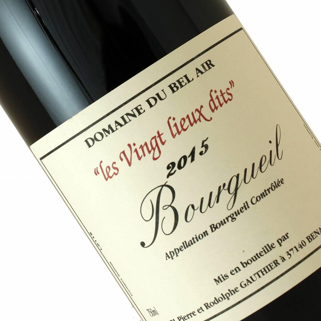 """Domaine Du Bel Air 2015 """"Les Vingt Lieux Dits"""" Bourgueil, Loire Valley"""