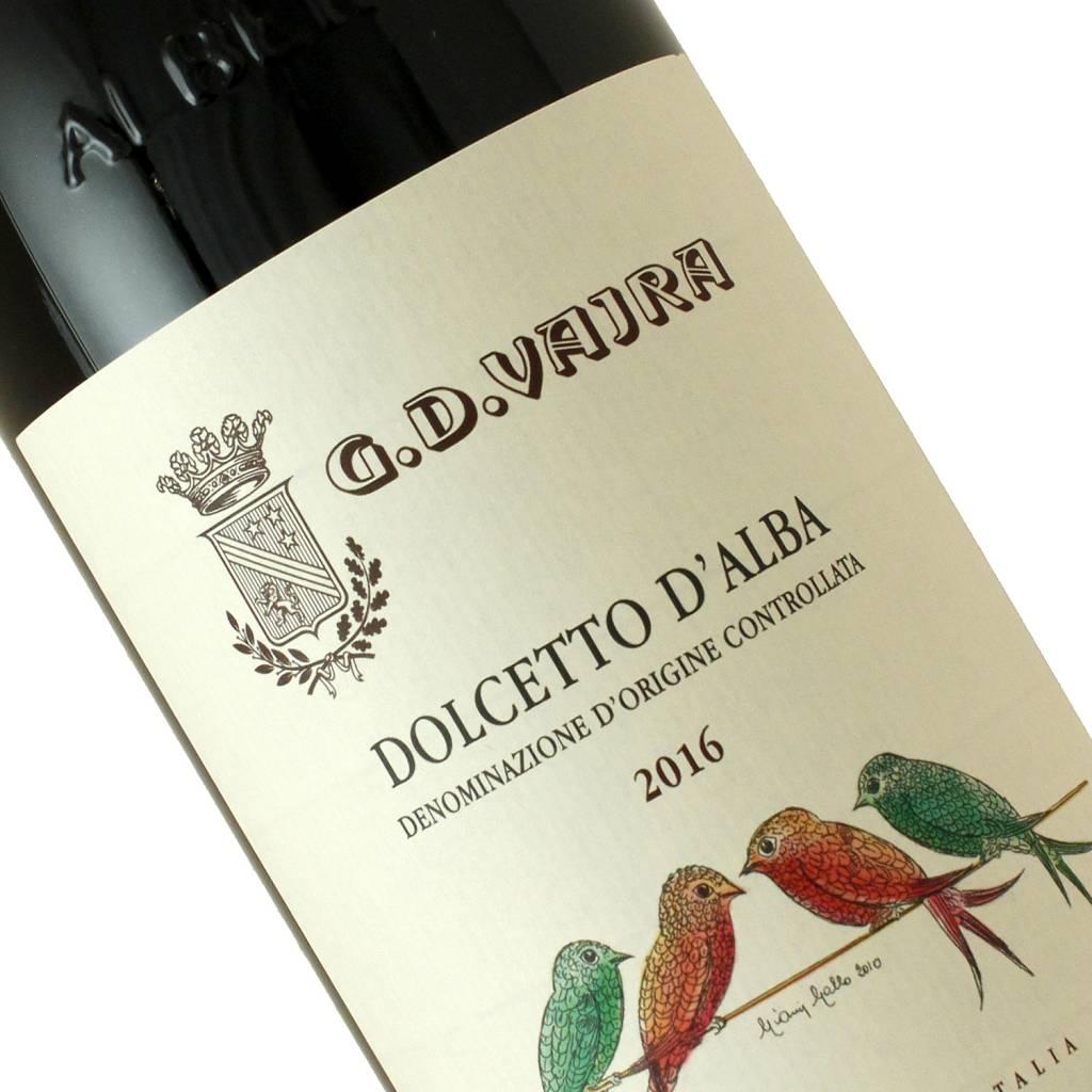 G. D. Vajra 2016 Dolcetto D'Alba Piedmont