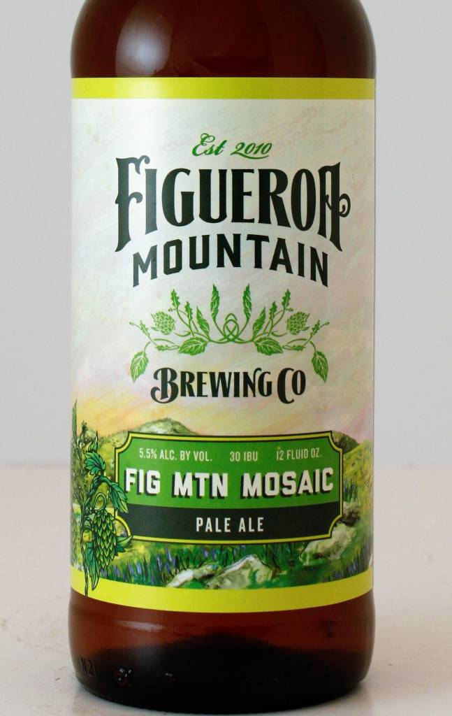 "Figueroa Mountain Brewing ""Mosaic"" Pale Ale, California"