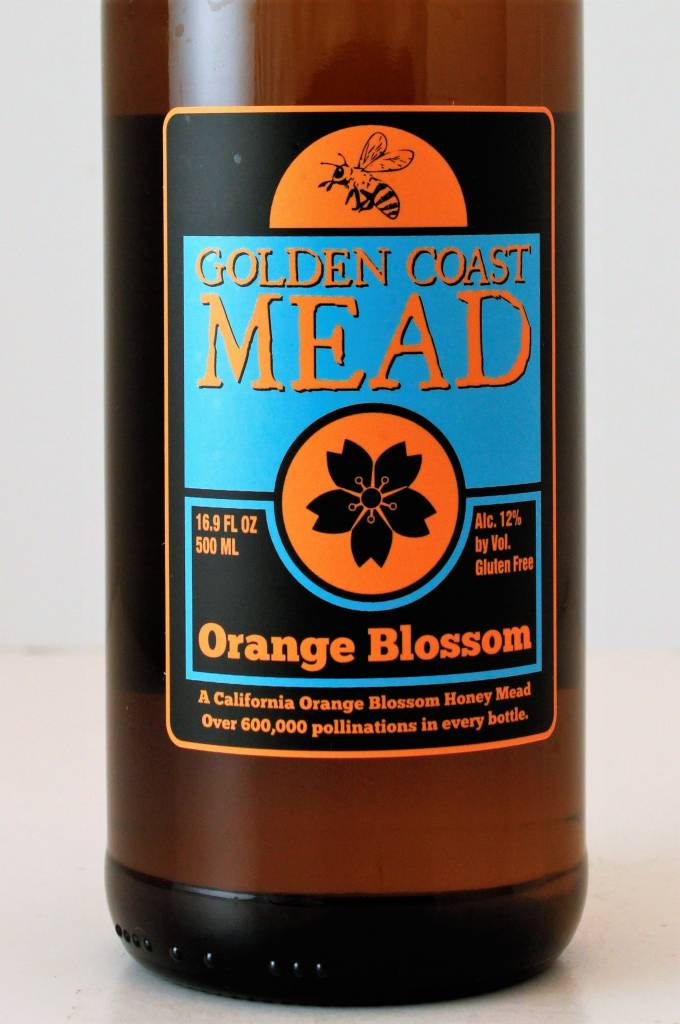 Golden Coast Orange Blossom Mead