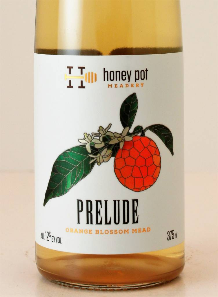 "Honey Pot Meadery ""Prelude"" Orange Blossom Mead 375M"