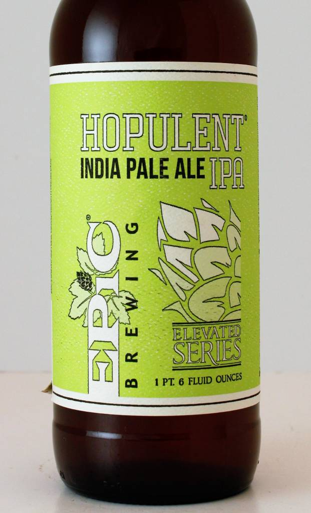 "Epic Brewing ""Hopulent"" IPA, Utah"