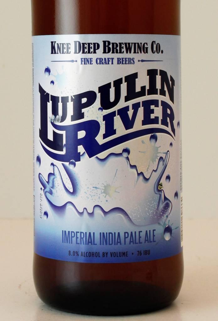 "Knee Deep Brewing ""Lupulin River"" Imperial IPA, California"