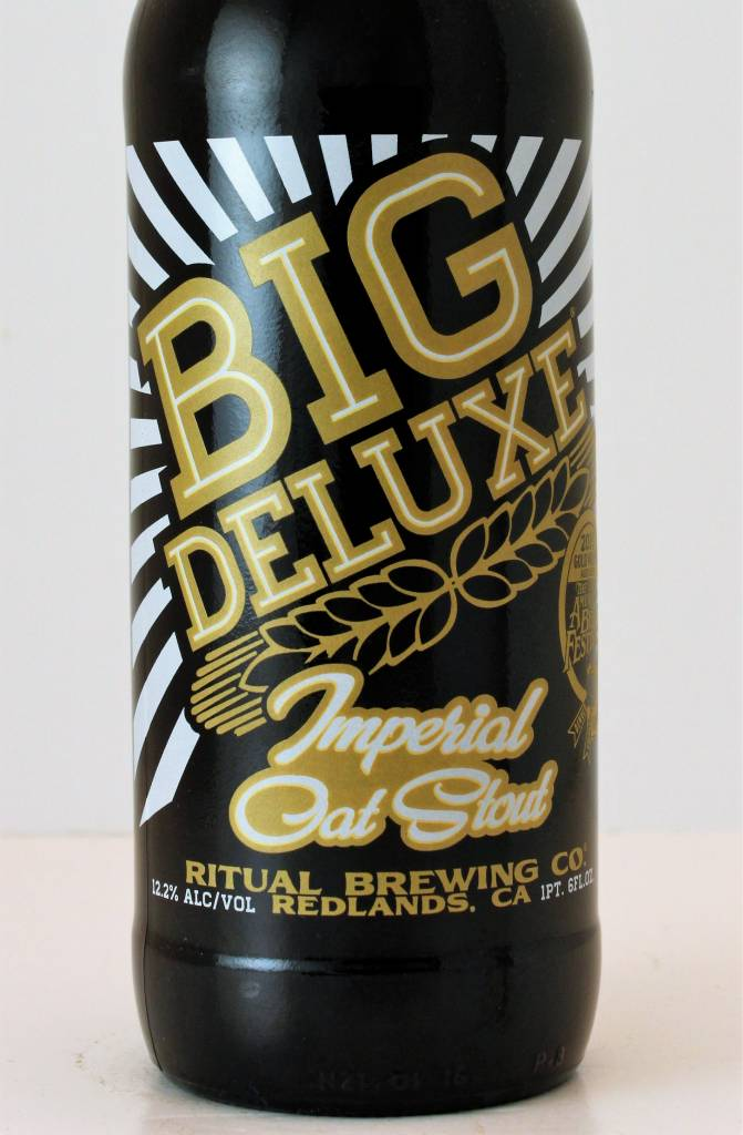 "Ritual Brewing ""Big Deluxe"" Imperial Oat Stout, California"