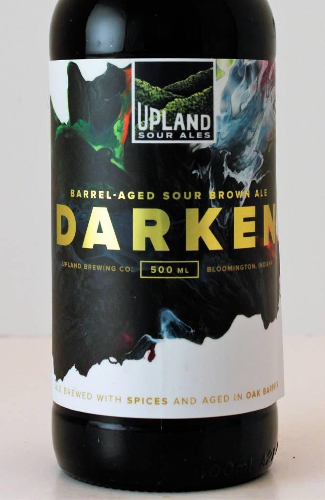 """Upland Brewing """"Darken"""" Barrel-Aged Sour Brown Ale"""