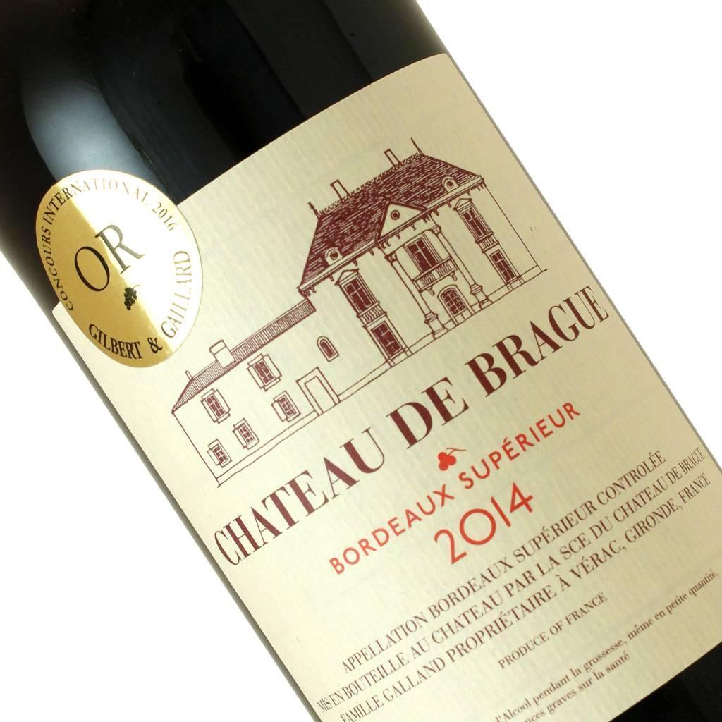 Chateau de Brague 2014 Bordeaux