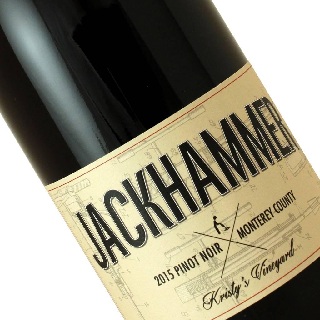 Jackhammer 2015 Pinot Noir, Central Coast