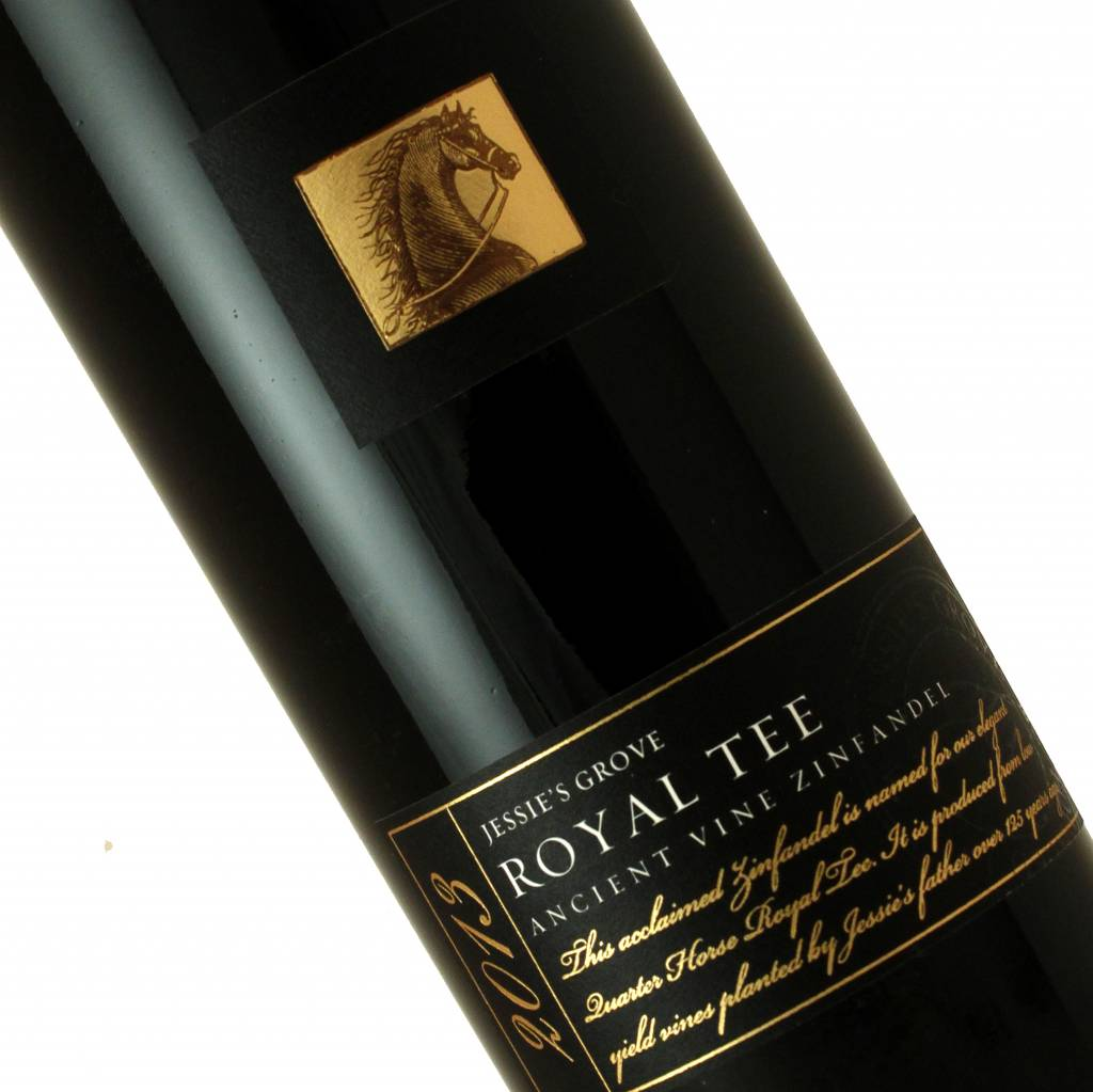 "Jessie's Grove ""Royal Tee"" 2013 Ancient Vine Zinfandel, Lodi"