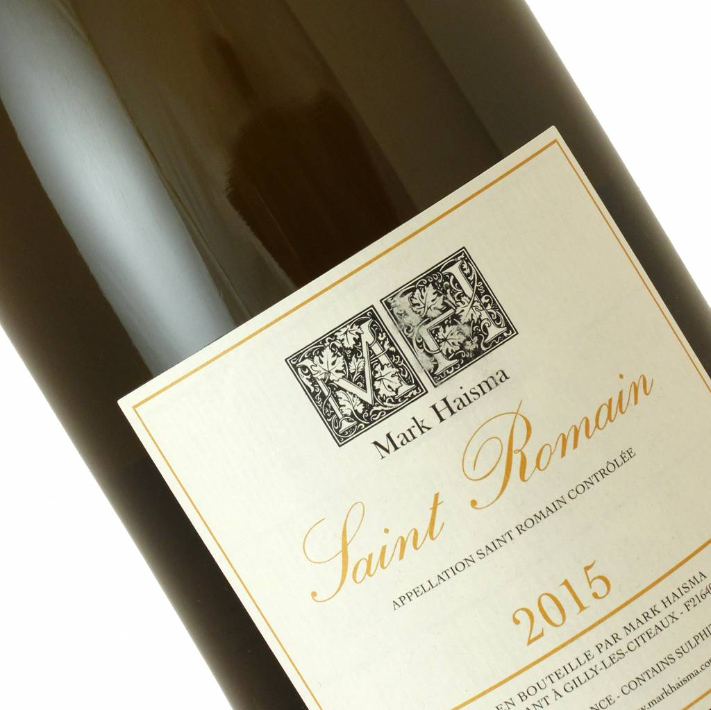 Mark Haisma 2015 Saint Romain White Burgundy 1.5L Magnum