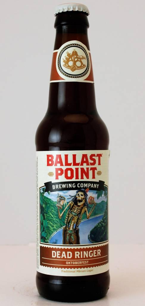 "Ballast Point Brewing ""Dead Ringer"" Oktoberfest, California"