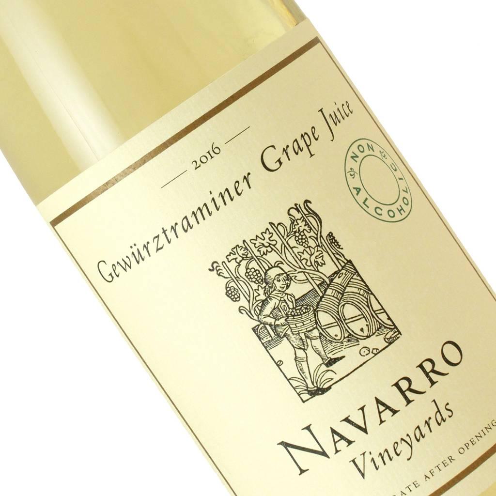 Navarro 2016 Gewurztraminer Grape Juice Non-Alcoholic