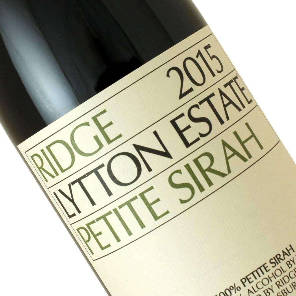 Ridge 2015 Petite Sirah Lytton Estate, Sonoma County