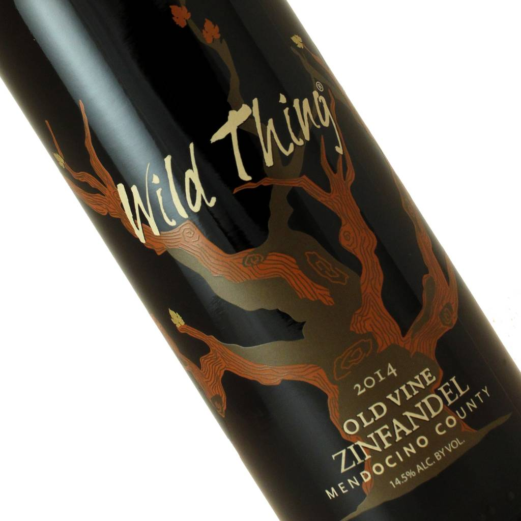 "Carol Shelton 2014 Zinfandel ""Wild Thing"" Mendocino County Half-Bottle"