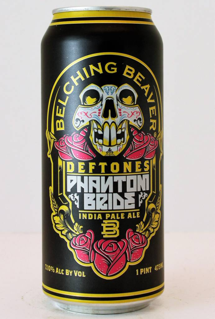 "Belching Beaver ""Phantom Bride"" IPA, California - 16oz can"
