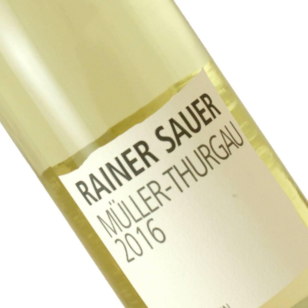 Rainer Sauer 2016 Muller-Thurgau Dry, Franken