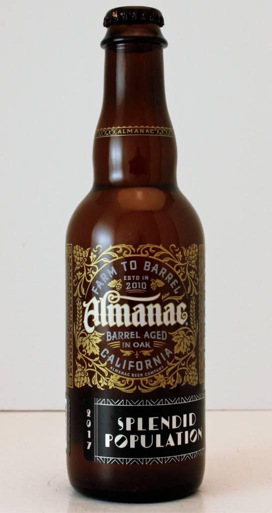 """Almanac """"Splendid Population"""" Imperial Sour Blond Ale"""