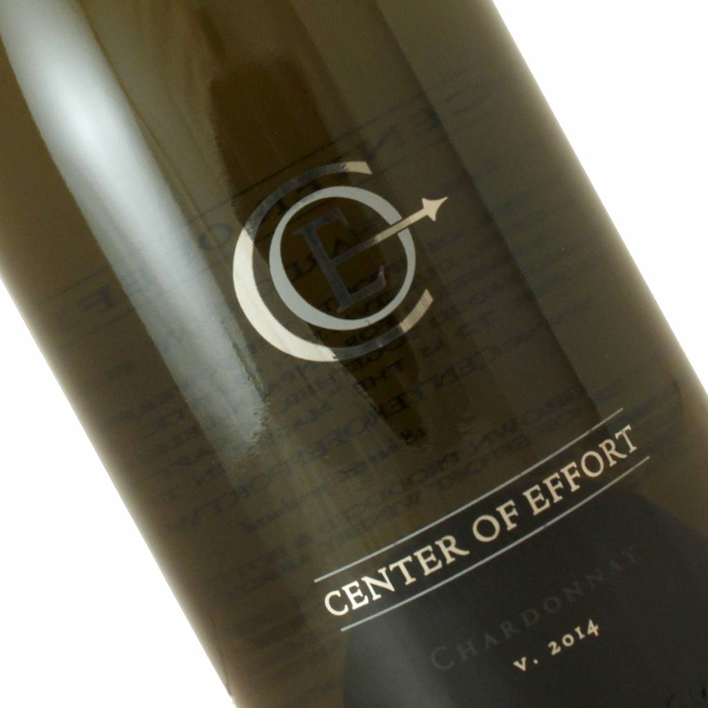 "Center of Effort 2014 Chardonnay ""Estate"", Edna Valley"