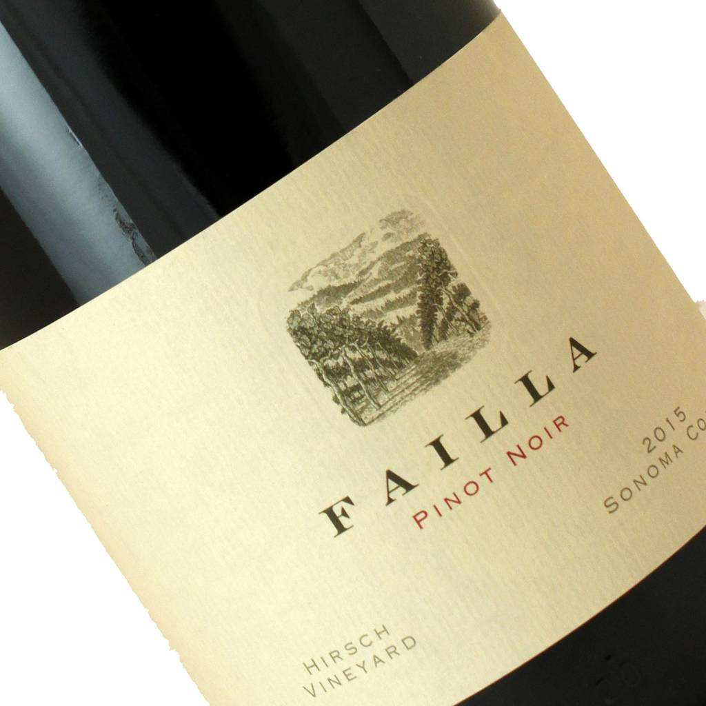 Failla 2015 Pinot Noir Hirsch Vineyard Sonoma Coast