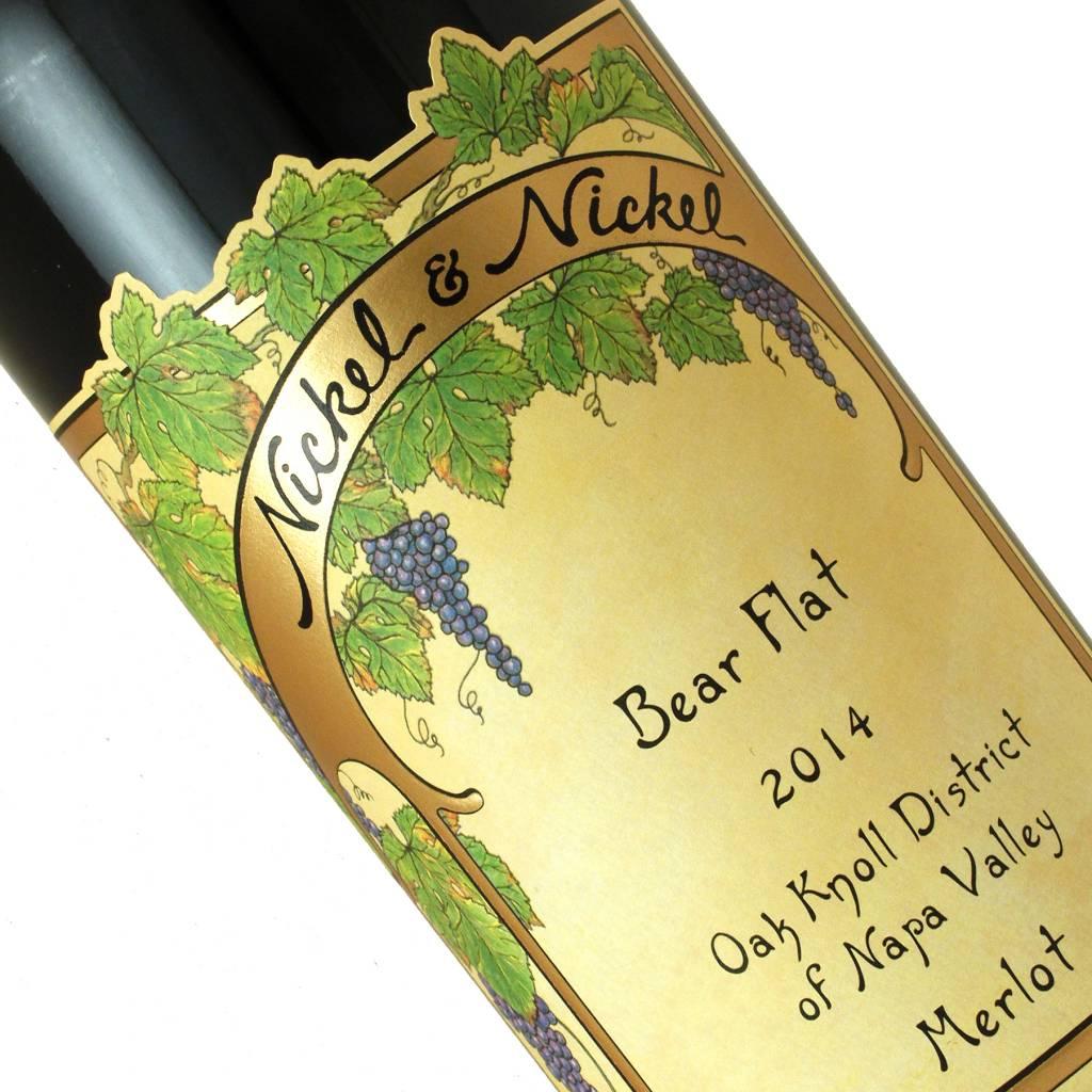 Nickel & Nickel 2014 Merlot Bear Flat Oak Knoll District of Napa Valley