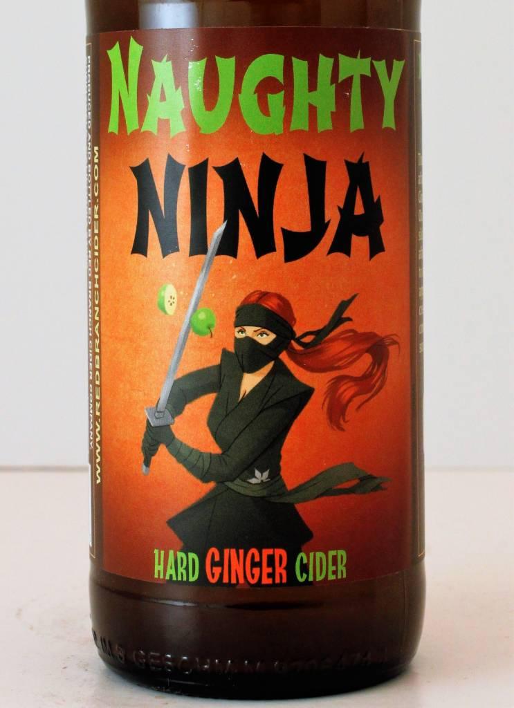 """Red Branch Cider Co. """"Naughty Ninja"""" Hard Ginger Cider"""