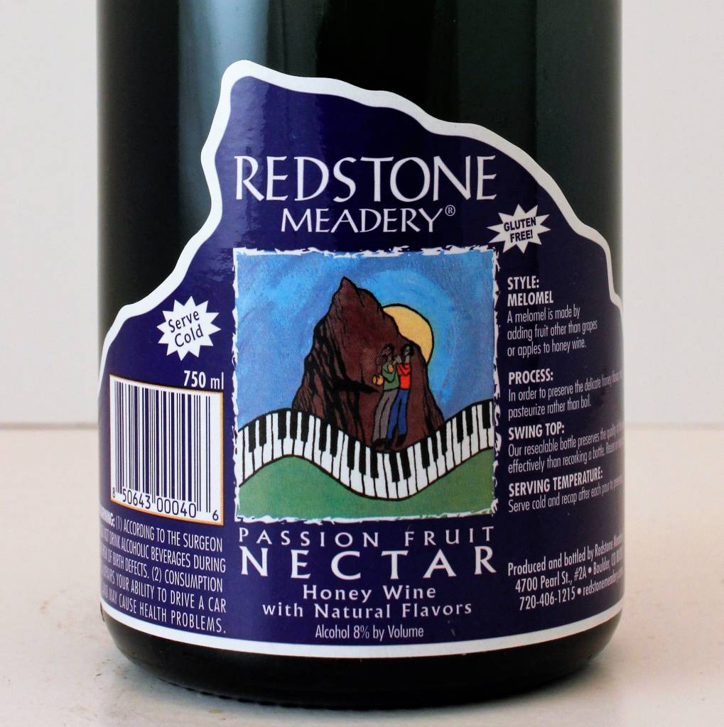Redstone Meadery Passion Fruit Nectar Honey Wine