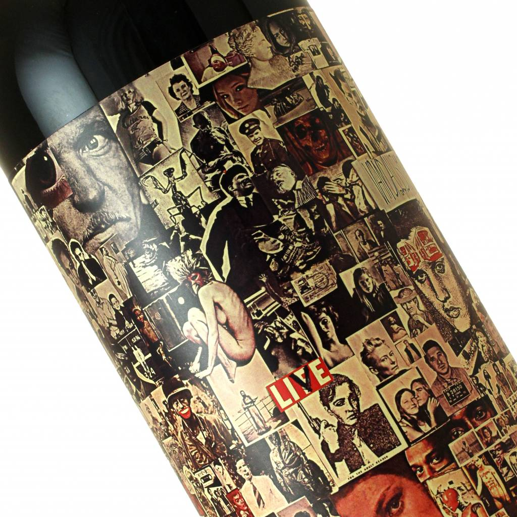 """Orin Swift 2016 """"Abstract"""" Red Wine, California"""