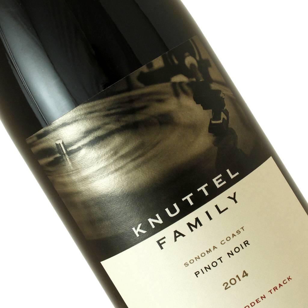 """Knuttel Family 2014 Pinot Noir """"Bill's Hidden Track"""", Sonoma Coast"""