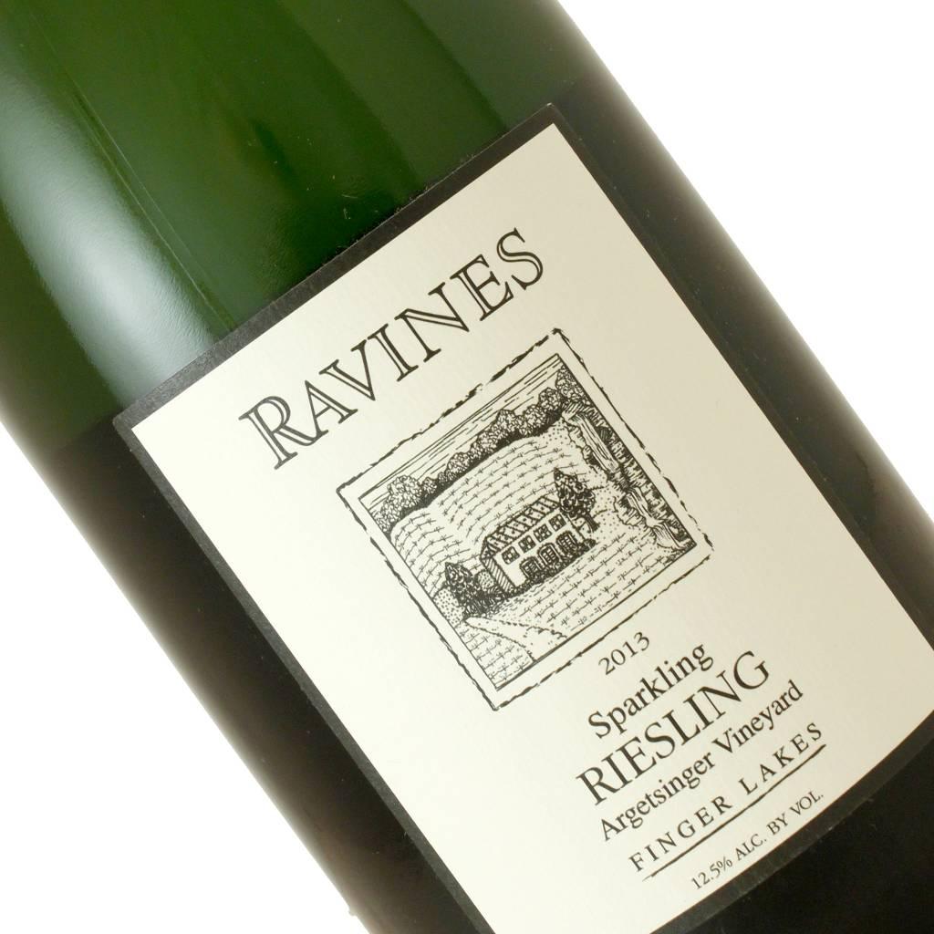 Ravines 2013 Riesling Sparkling Wine Argetsinger Vineyared, Finger Lakes