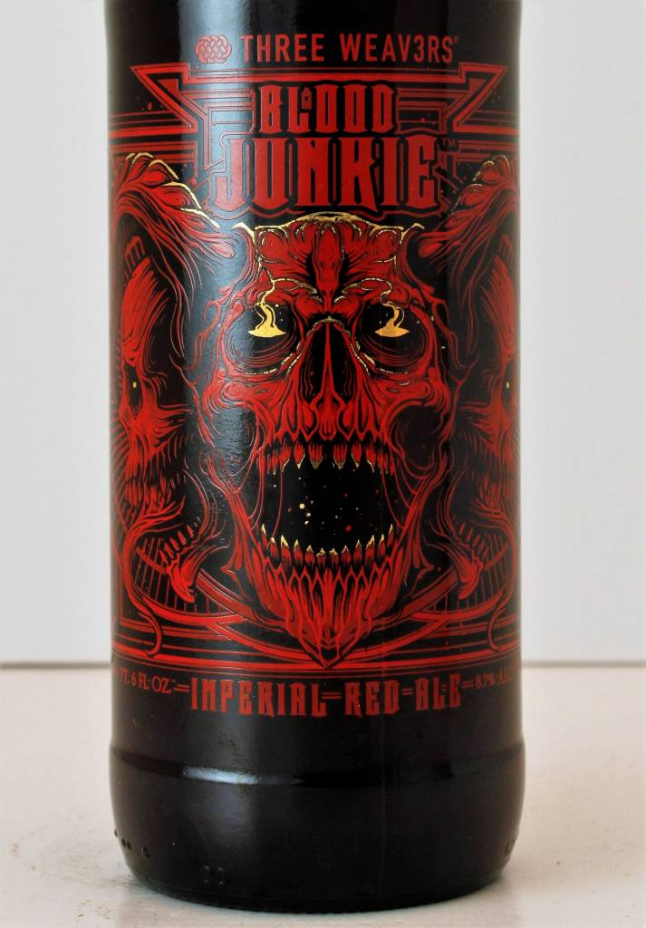 "Three Weav3rs ""Blood Junkie"" Imperial Red Ale"