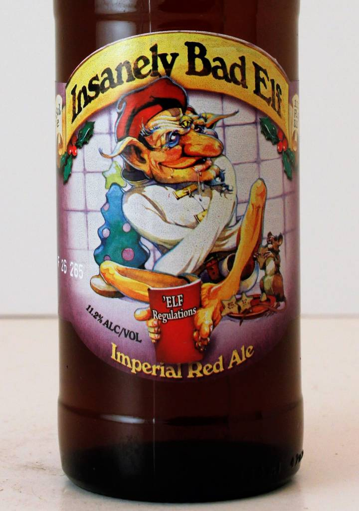 "Ridgeway ""Insanely Bad Elf"" Imperial Red Ale, UK"
