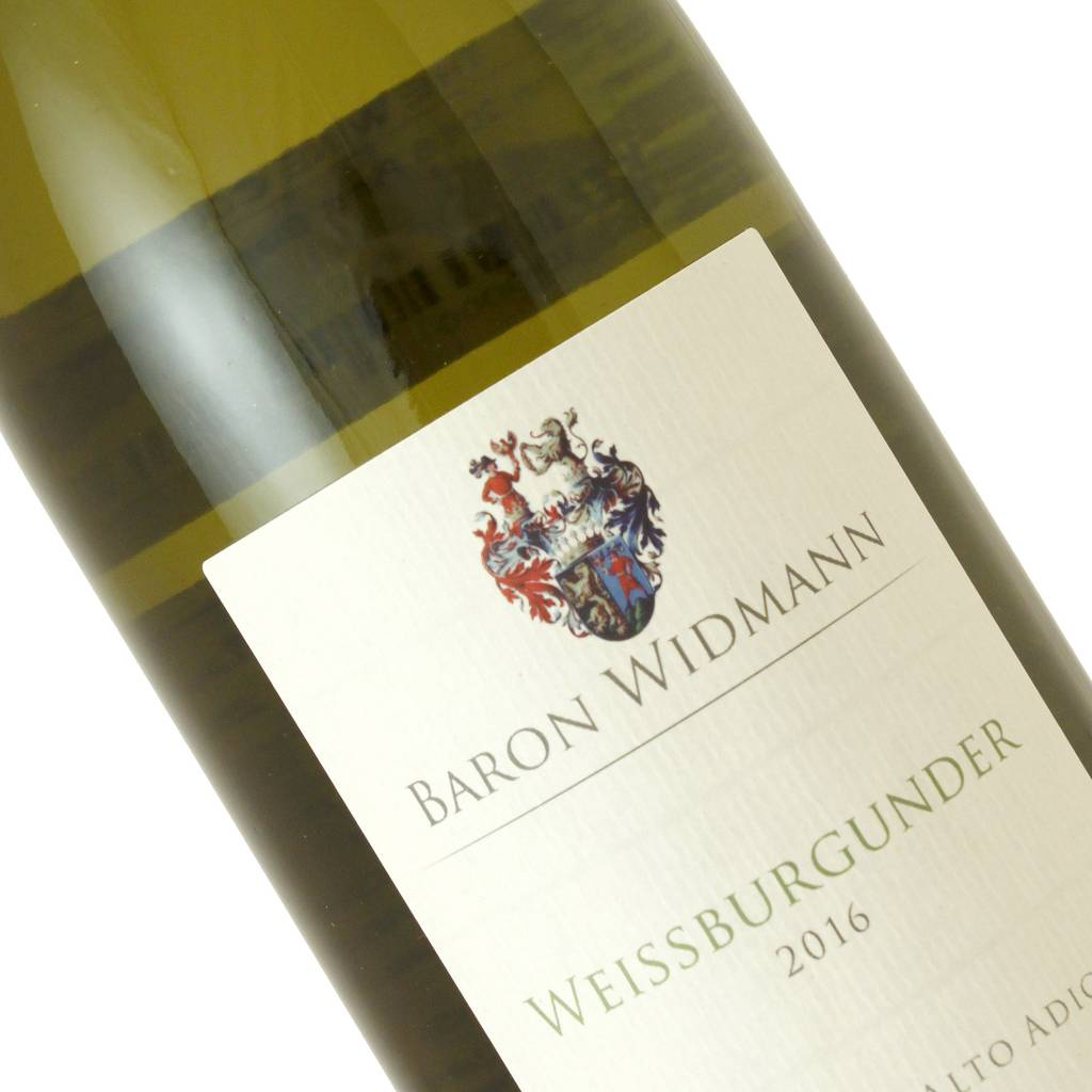 Andreas Baron Widmann 2016 Weissburgunder Pinot Bianco, Sutdirol-Alto Adige, Italy