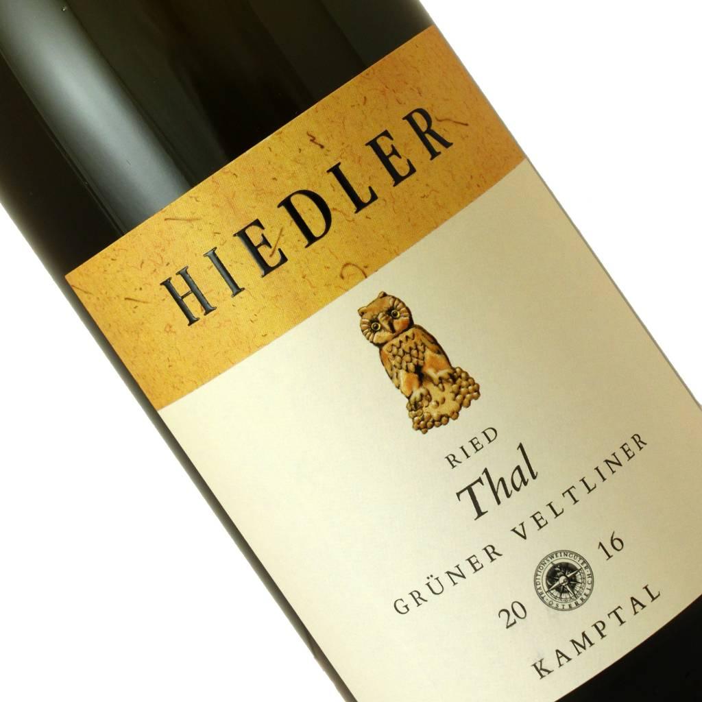 Hiedler 2016 Gruner Veltliner Thal, Kamptal, Austria