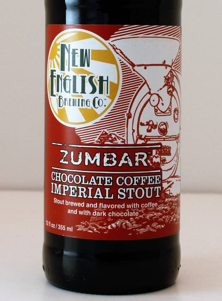 "New English Brewing ""Zumbar"" Chocolate Coffee Imperial Stout"