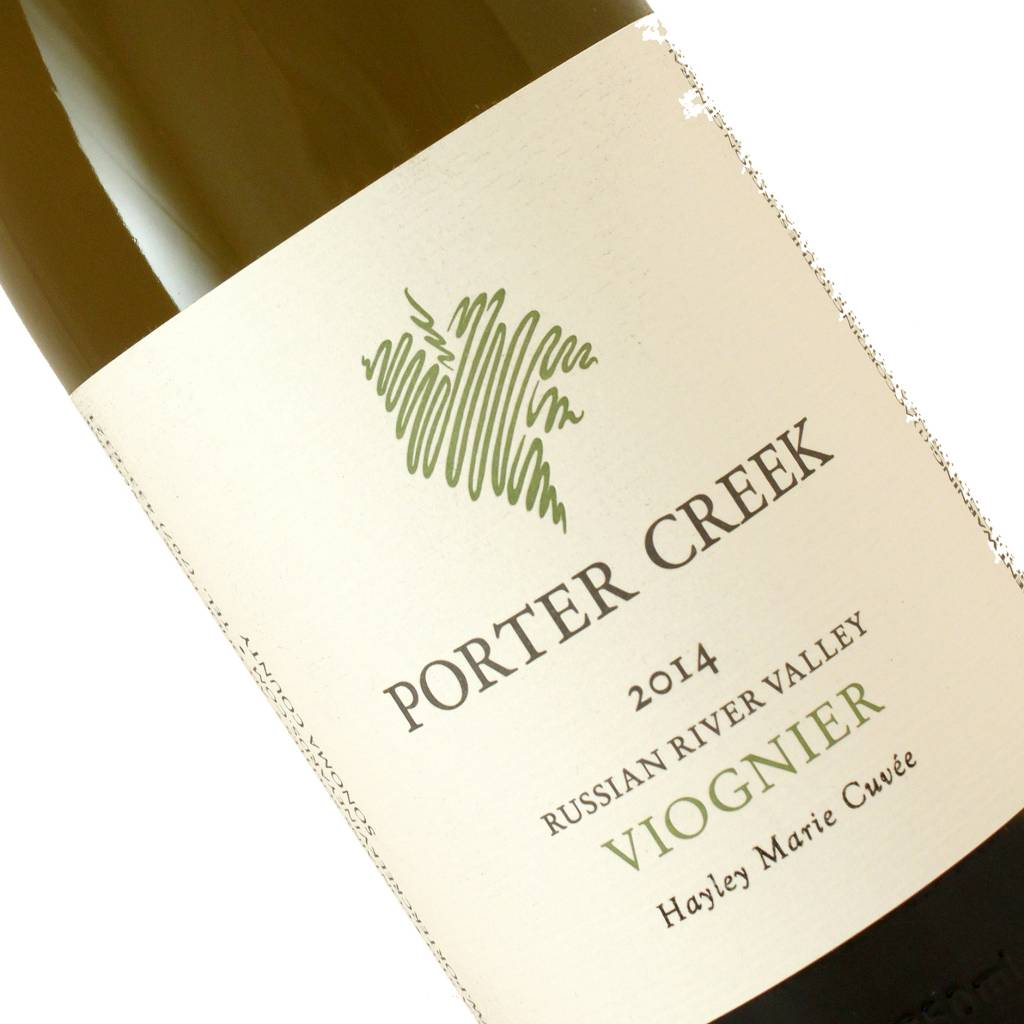 Porter Creek 2014 Viognier Hayley Marie Cuvee, Russian River Valley