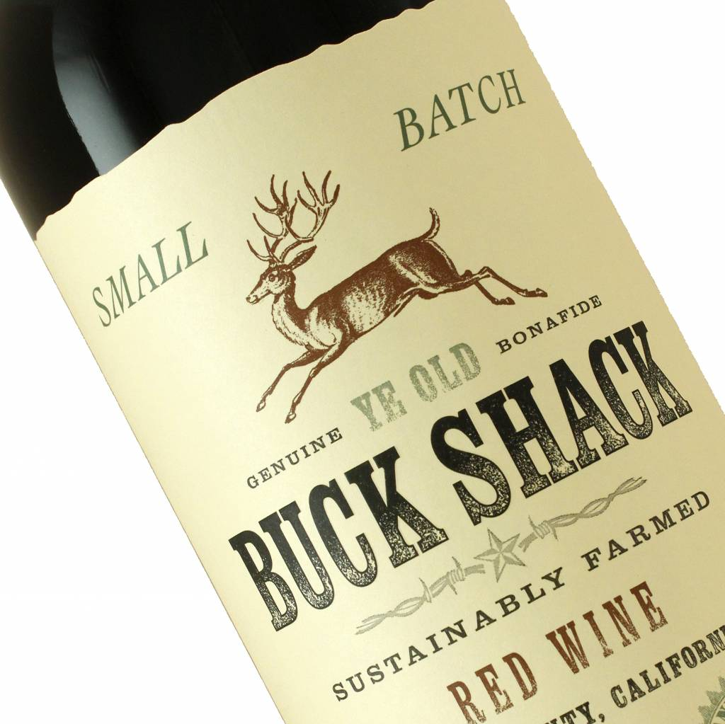 Buck Shack 2014 Red Wine, Lake County