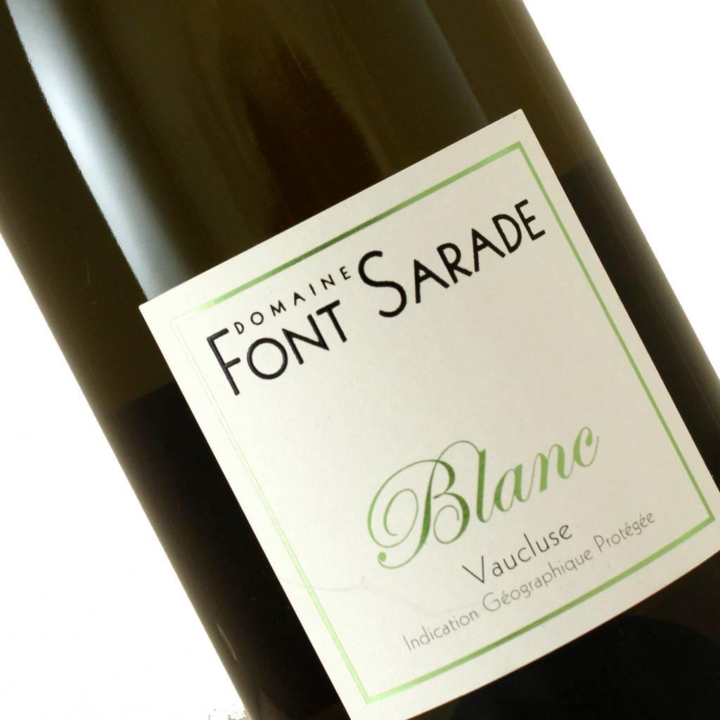 Font Sarade 2016 Blanc Vaucluse, Rhone