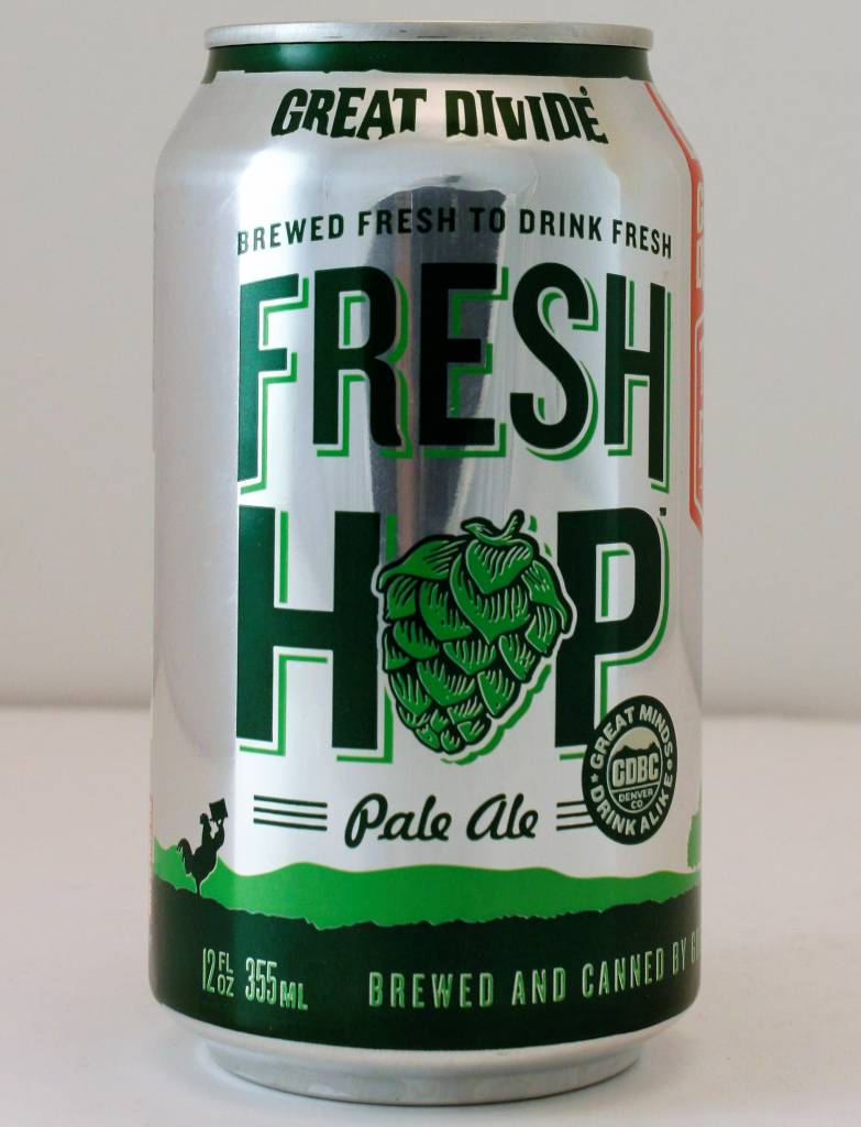 "Great Divide Brewing ""Fresh Hop Pale"", Colorado - 12oz can"