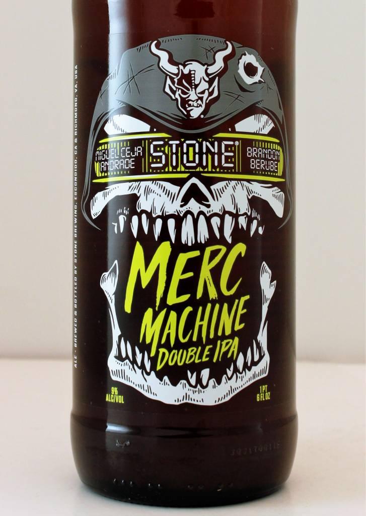 "Stone Brewing ""Merc Machine"" Double IPA, California"