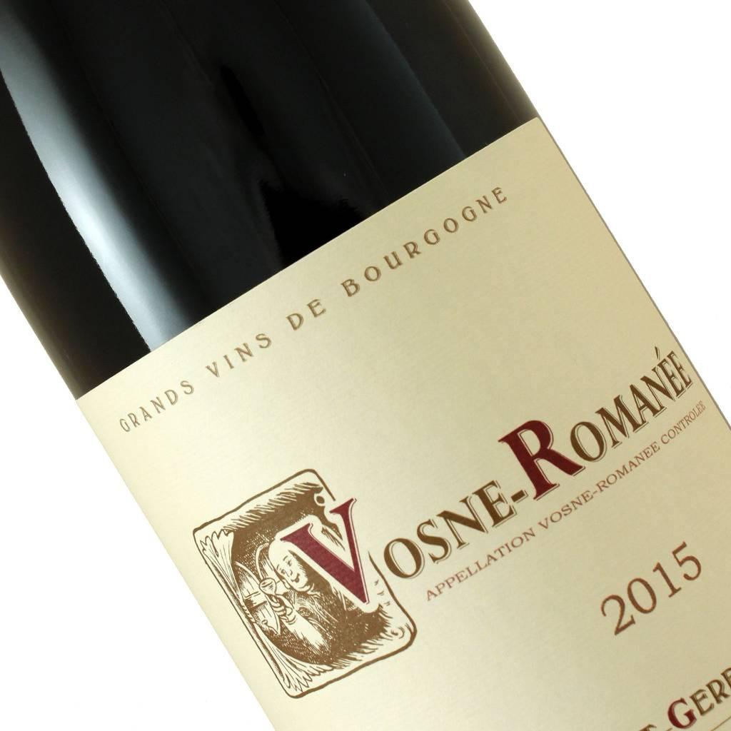 Domaine Berthaut-Gerbet 2015 Vosne-Romanee Red Burgundy
