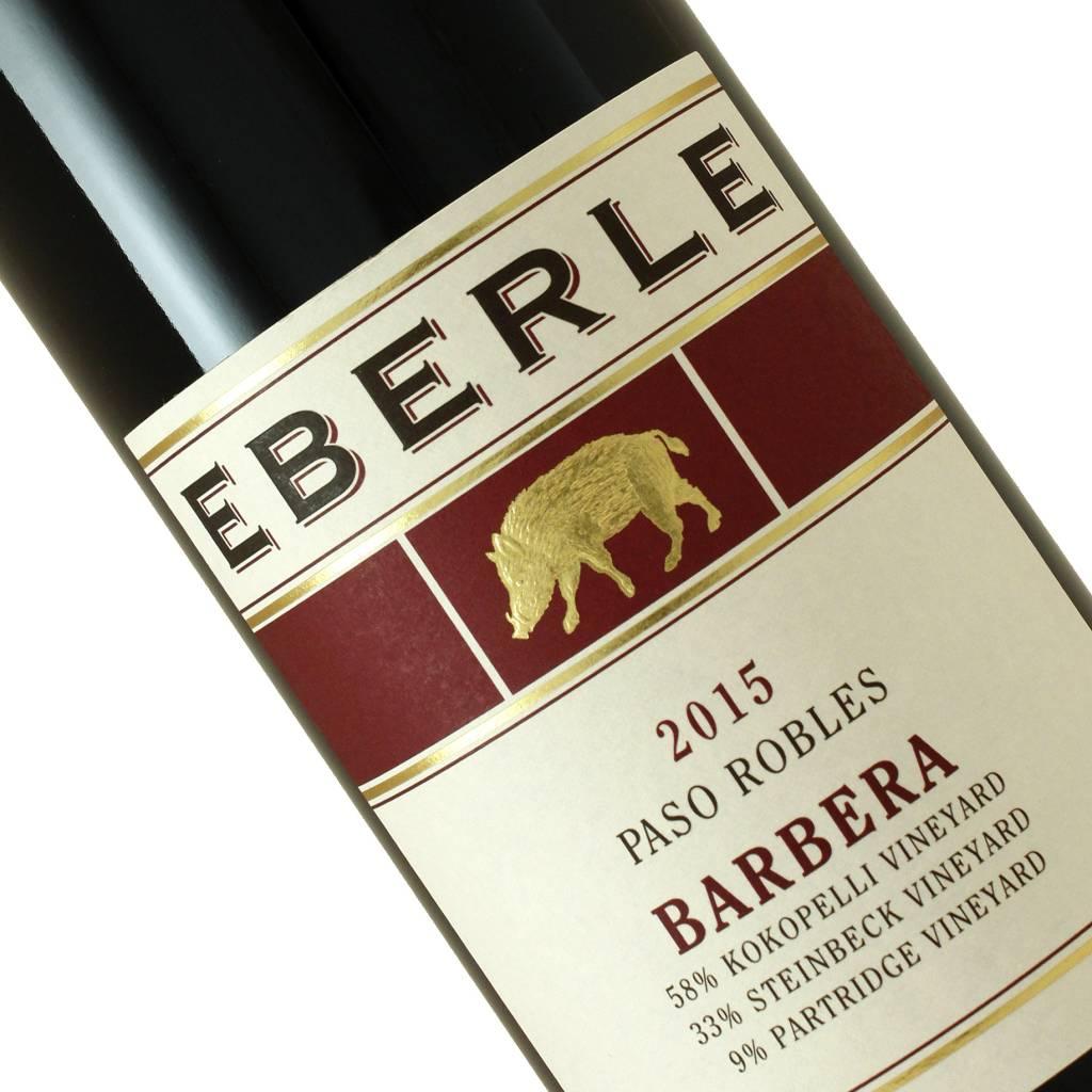 Eberle 2015 Barbera Paso Robles