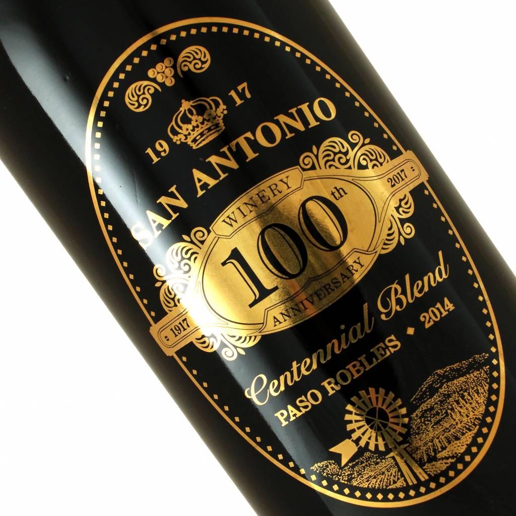San Antonio Winery 100th Anniversary 2014 Centennial Blend, Paso Robles